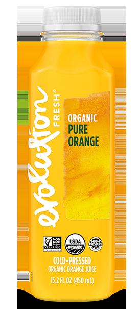 Organic Pure Orange cold pressed juice