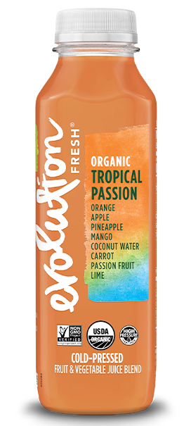 Organic Tropical Passion cold pressed juice