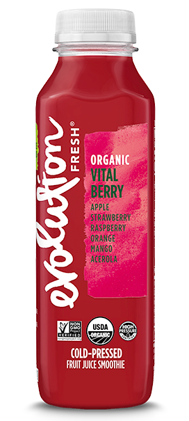 Organic Vital Berry cold pressed juice