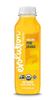 Evolution Fresh | Organic Pure Orange |   Cold-Pressed Juice