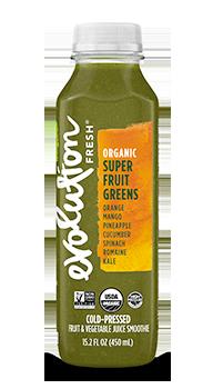 Evolution Fresh | Organic Super Fruit Greens |   Cold-Pressed Juice