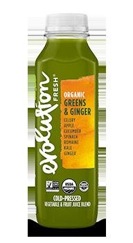 Evolution Fresh | Organic Greens & Ginger |   Cold-Pressed Juice