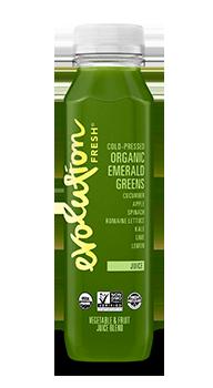 Evolution Fresh | Organic Emerald Greens |   Cold-Pressed Juice