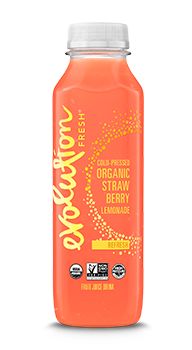 Evolution Fresh | Organic Strawberry Lemonade |   Cold-Pressed Juice