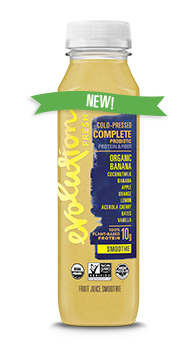 Evolution Fresh | Organic Banana<br>Complete Probiotic Smoothie |  Cold-Pressed Smoothie