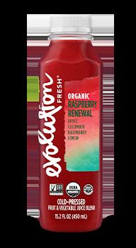 Evolution Fresh | Organic Raspberry Renewal |   Cold-Pressed Juice