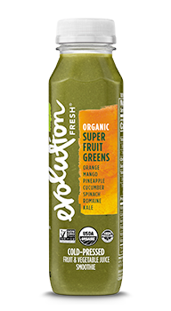 Evolution Fresh | Organic Super Fruit Greens |   Cold-Pressed Juice