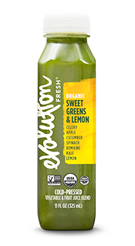 Evolution Fresh | Organic Sweet Greens & Lemon |   Cold-Pressed Juice