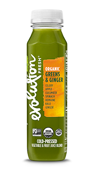 Evolution Fresh | Organic Greens & Ginger |   Cold-Pressed Juice