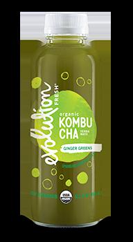 Evolution Fresh | Ginger Greens Kombucha |   Cold-Pressed Juice
