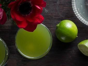 Green Fields Cocktail