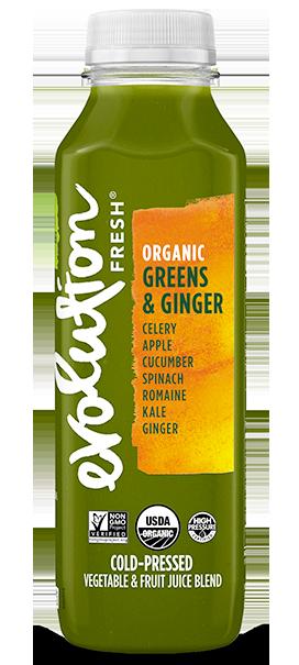 Organic Greens & Ginger