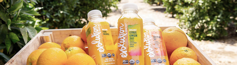 Image of Evolution Fresh Organic Cucumber Glow juices