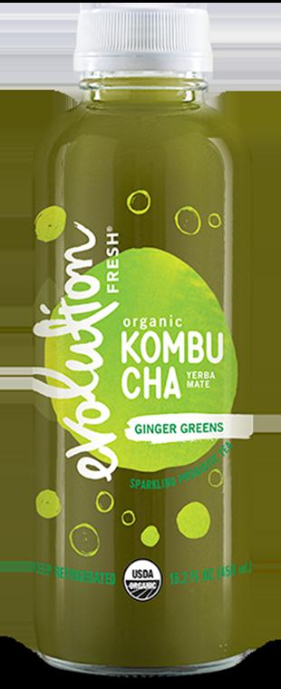 Organic Ginger Greens Kombucha