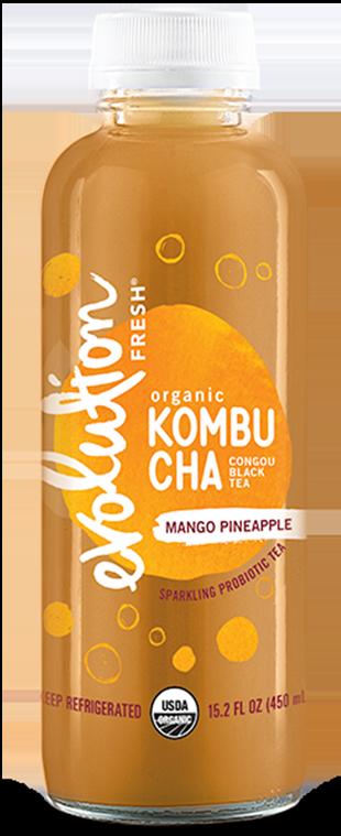Organic Mango Pineapple Kombucha