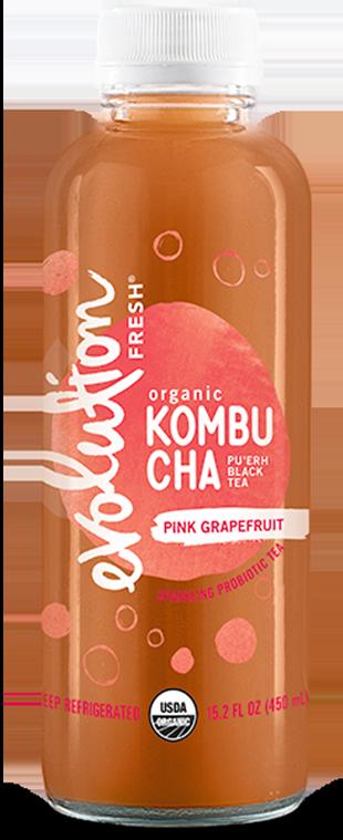 Organic Pink Grapefruit Kombucha