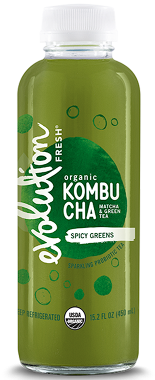 Organic Spicy Greens Kombucha