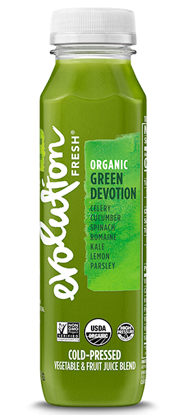 Organic Green Devotion cold pressed juice