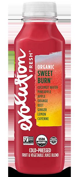 Organic Sweet Burn cold pressed juice