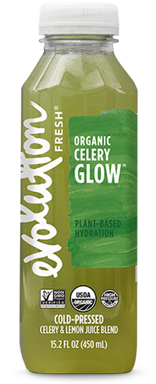 Organic Celery Glow cold pressed juice